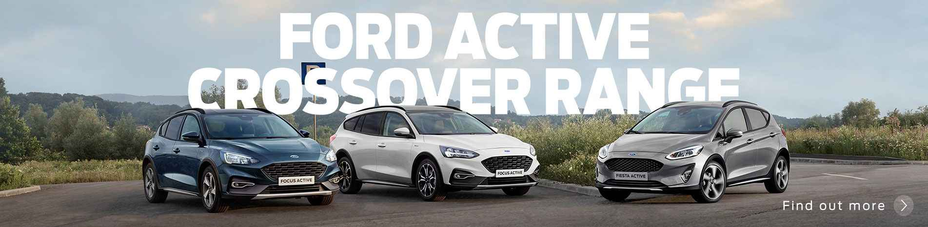 Ford Active Crossover Range