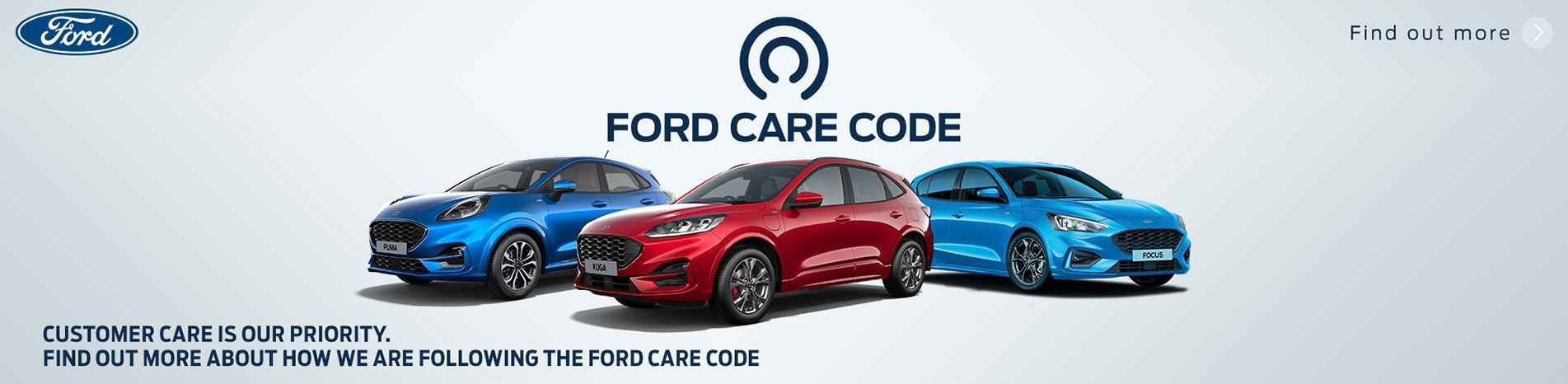 Ford Care Code at Glenford