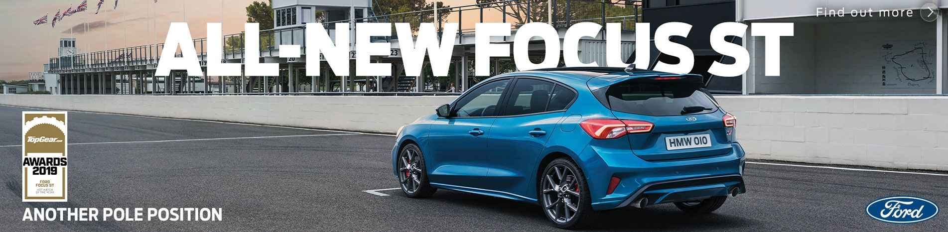 All-New Focus ST Top Gear Awards